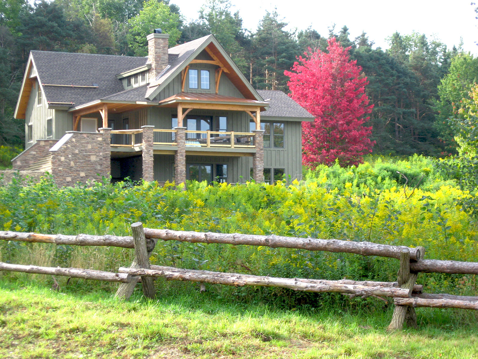 Ellicottville chalet photos lofty mountain homes for Mountain cabin homes