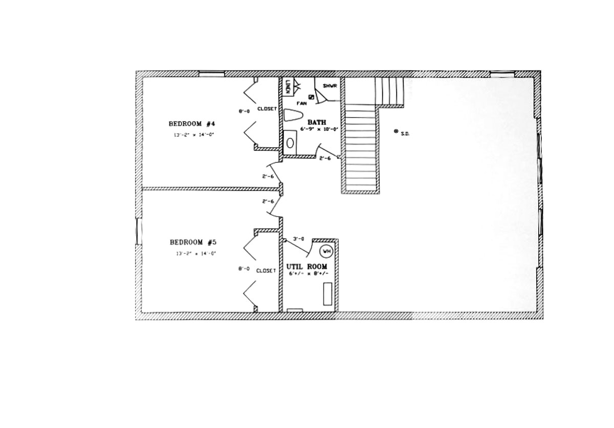 Walkout Basement Lofty Mountain Homes: floor plans with walkout basement