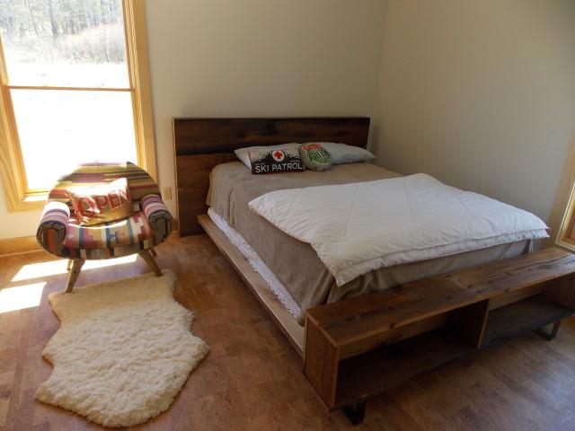 Ellicottville Cabin Bedroom