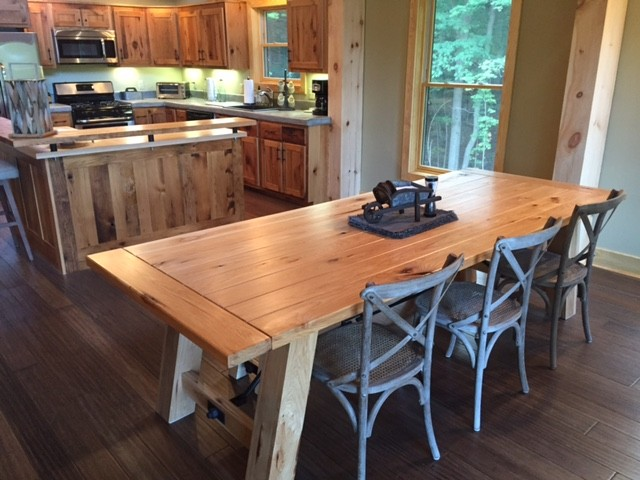 Custom Chalet Furniture from Reclaimed Wood