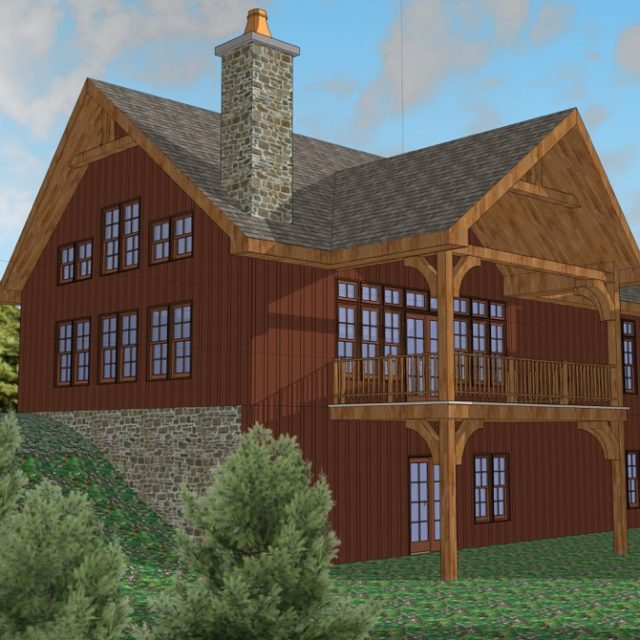 Valley View Chalet Model Ellicottville NY